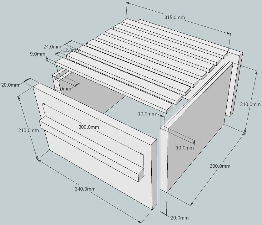 Beekeeping with the warr hive plans for constructing a for Beehive plans blueprints